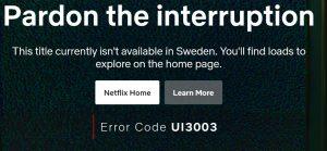 VPN geoblock sverige